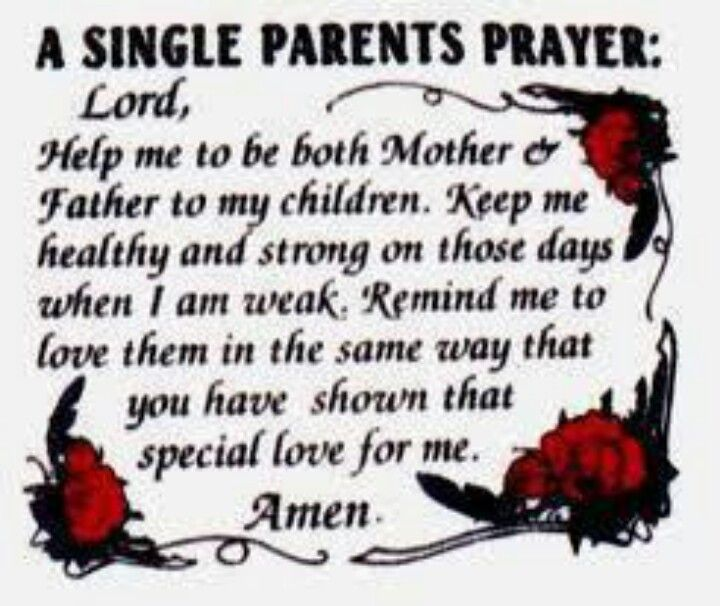 To All The Single Parents Out There