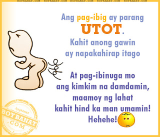 Tagalog Funny Love Quotes And Funny Love Sayings Boy Banat