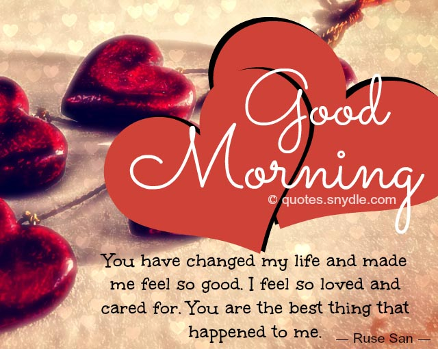 Romantic Good Morning Love Text Messages
