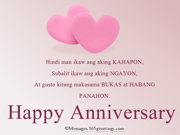 Happy Anniversary In Tagalog