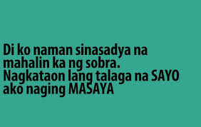 Love Quotes Tagalog For You
