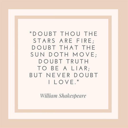 William Shakespeare Quote