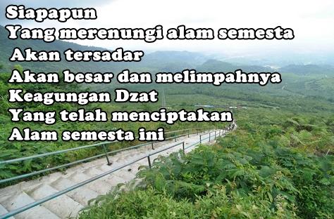 Kata Kata Bijak Untuk Alam Pegunungan