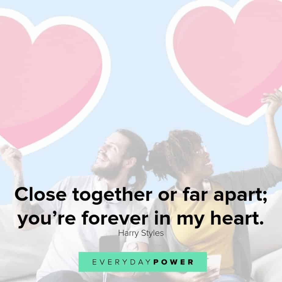 Long Distance Relationship Quotes About Being Apart