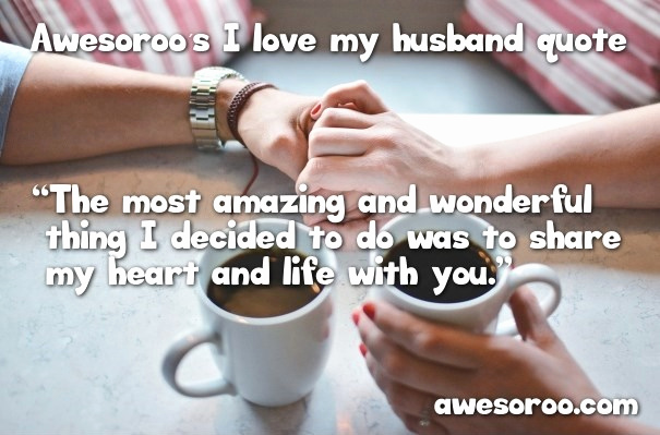 Love Quotes For Wife From Husband Attractive  Awesome I Love My Husband Quotes With Feb