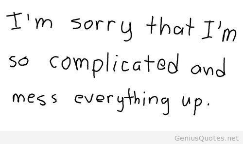 Love Sorry Quotes
