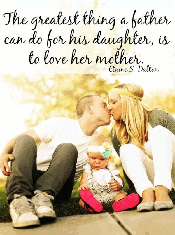 Loving Father Daughter Quotes
