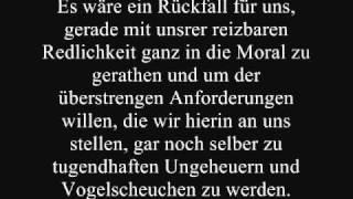 Friedrich Nietzsche Uber Kunst Zitate Aus Frohliche Wissenschaft Youtube