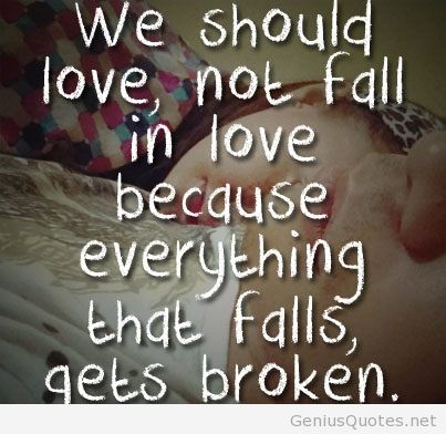 Not Fall In Love