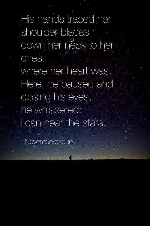 Description Our Special Date Under The Stars