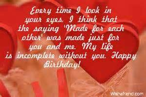 Happy Birthday Love Quotes For My Boyfriend Image Quotes At
