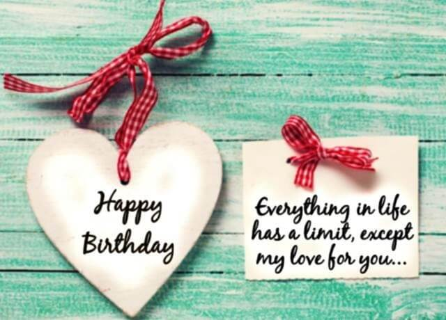 Romantic Happy Birthday Quotes For Boyfriend From Girlfriend