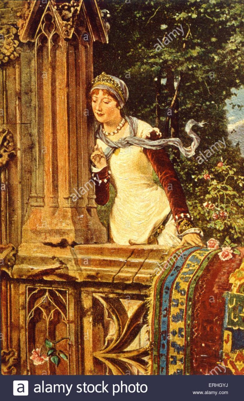 Shakespeare Romeo Und Julia Balkonszene Trago