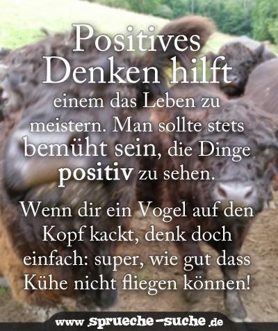 Spruch Positives Denken