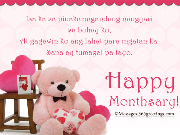 Tagalog Anniversary Messages