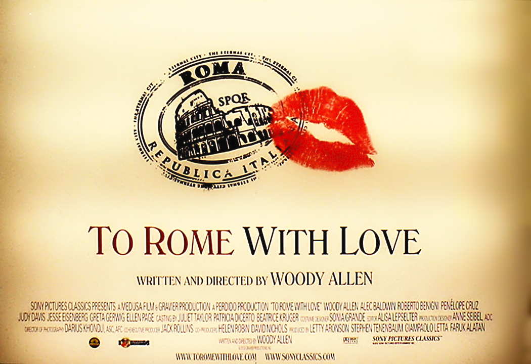 To Rome With Love Landscape