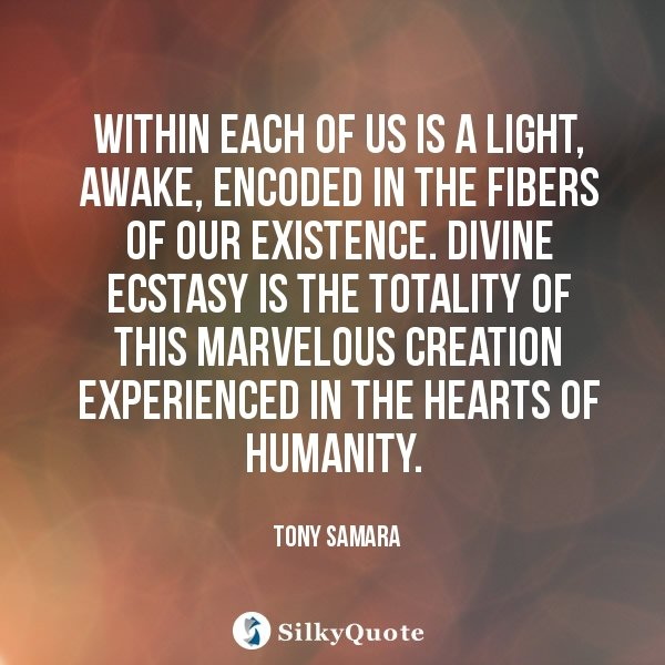 Love And Life Quote By Tony Samara