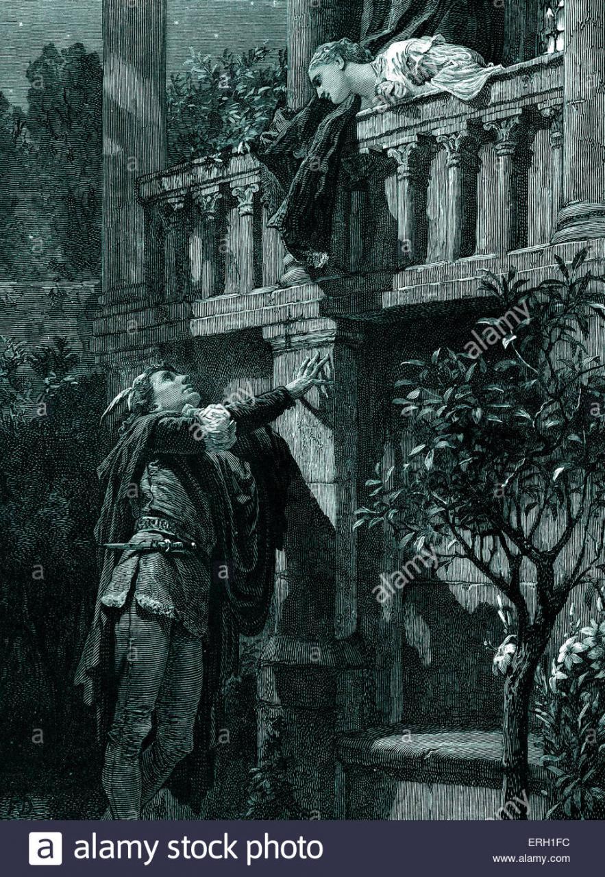 William Shakespeares Romeo Und Julia Zu Spielen Akt Ii Szene  Romeo Und
