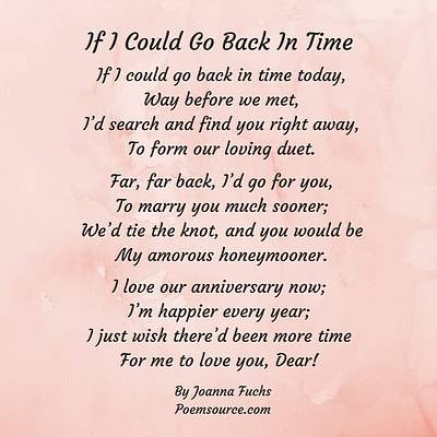 Pink Marbled Background For Anniversary Love Poem