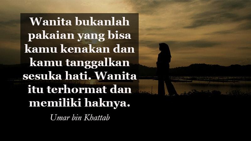 Kata Kata Indah Untuk Kekasih Umar Bin Khattab