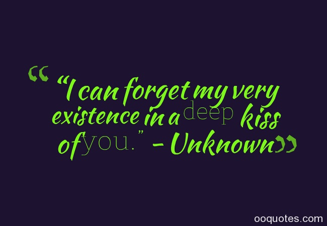 Unknown Deep Love Quotes