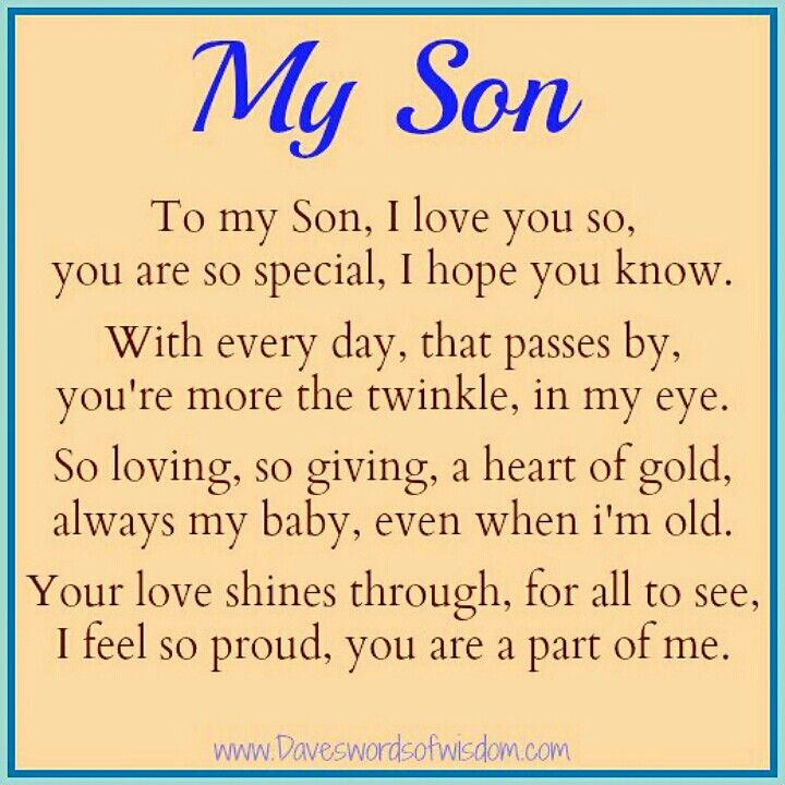 My Son Is One Of The Best Gift That Could Bless Me With I Love You Son With All My Heart Bless You Love You And Miss You