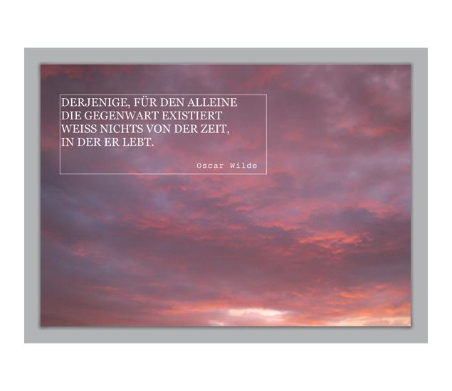 Oscar Wilde Zitat Klappkarte Grusskarten Onlineshop Agrusskarten De