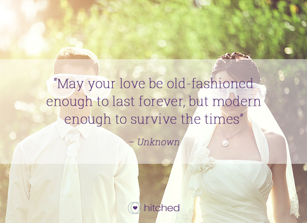 Romantic Quote Ideal For A Wedding Toast