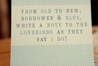 A Quote For A Potential Guestbook Cover Or Sign