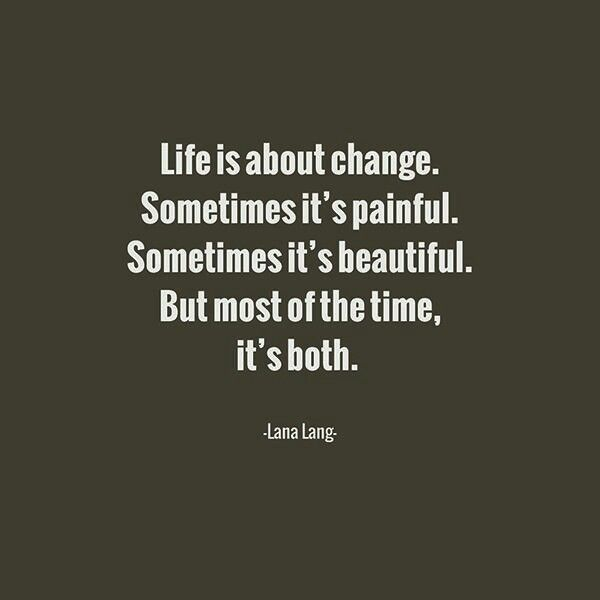 Life Is About Change  C B Statement Deutsch Ses Liedspruche
