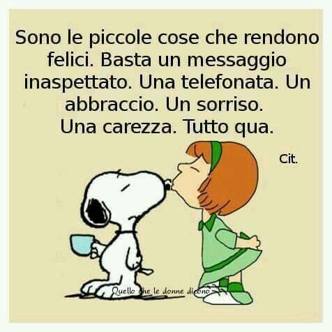 Italienisch Zitat Erdnusse Bande Snoppy Vignetten Italienische Zitate Holzlager Inspirierende Zitate Belle