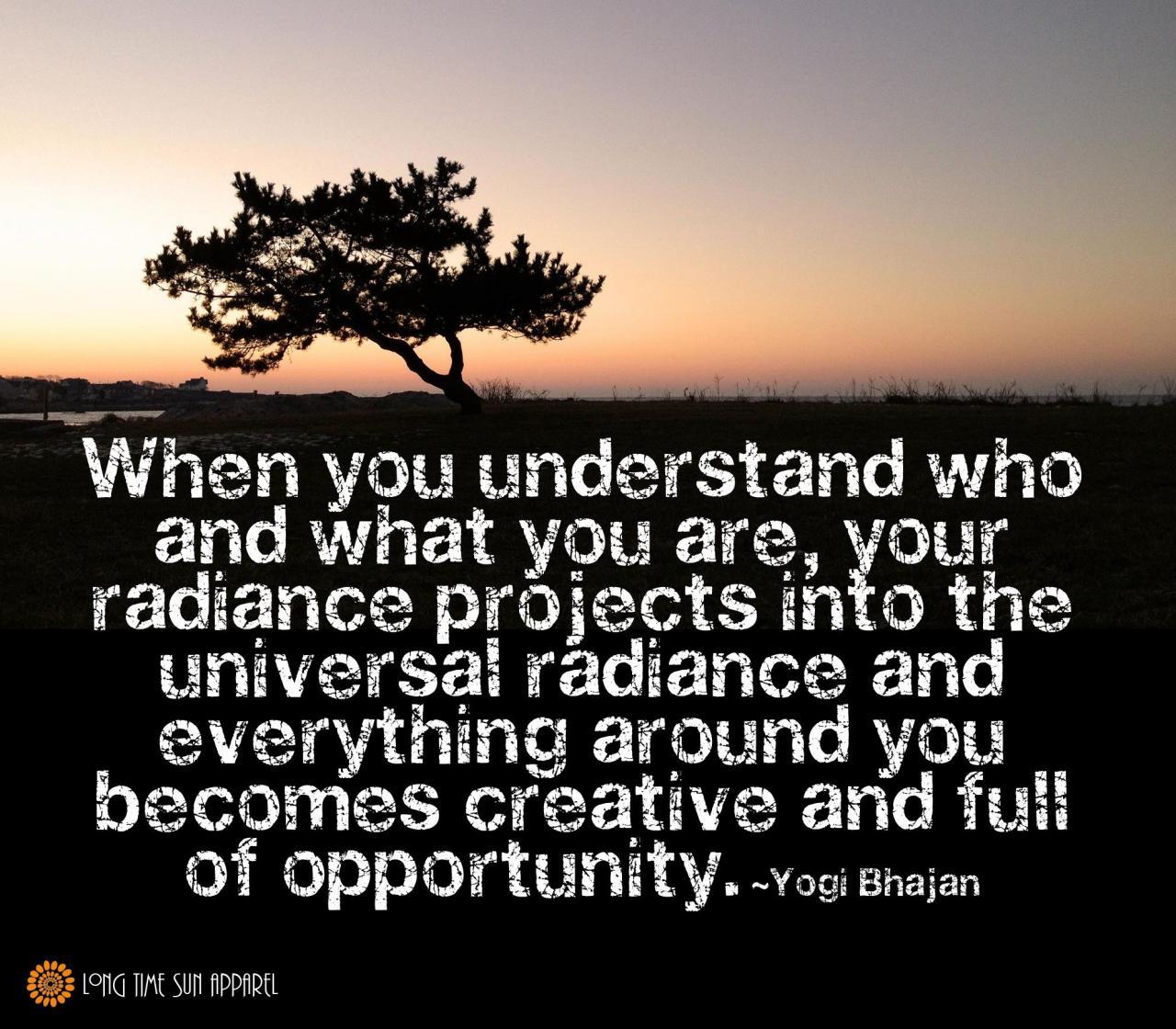 Yogi Bhajan Quote Yoga Inspirational