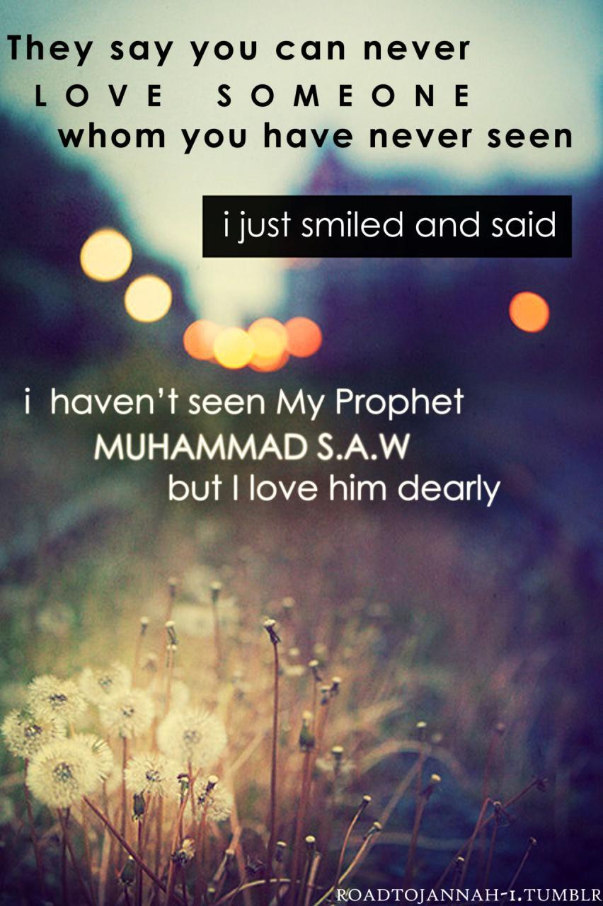 Love The Prophet S A W