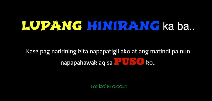 Love Quotes And Pick Up Lines Tagalog Tagalog Pick Up Lines And Quotes