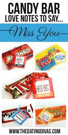 Looking For A Quick And Easy Gift Idea Use Our Printable Candy Bar Gift Tags Weve Got Clever Candy Sayings For Almost Every Occasion