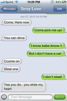Cute Texts Between Boyfriend And Girlfriend Boyfriend Sweet Texts Cute Text Iphone Text In Love