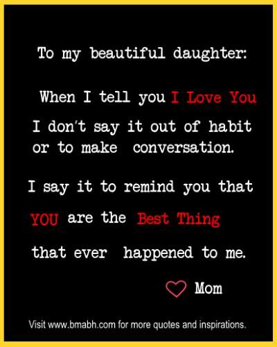 Inspirational Mother Daughter Quotes