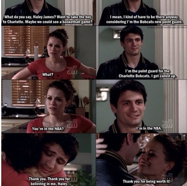One Tree Hill My Favorite Naley Moment Ever