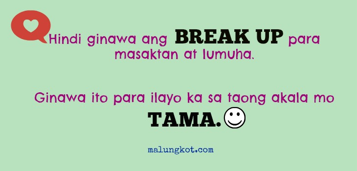 Find Search Top Best Sad Tagalog Break Up Quotes