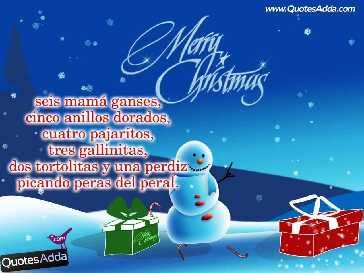Christmas Quotes In Spanish Quotesadda Com Quotes Tamil Quotes Hindi