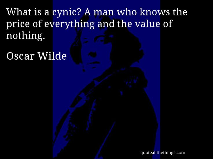 Oscar Wilde Quotes Cynic Deutsche Zitate Leben