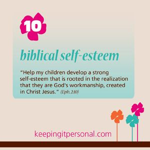 Virtue Biblical Self Esteem