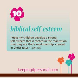 Virtue Biblical Self Esteem