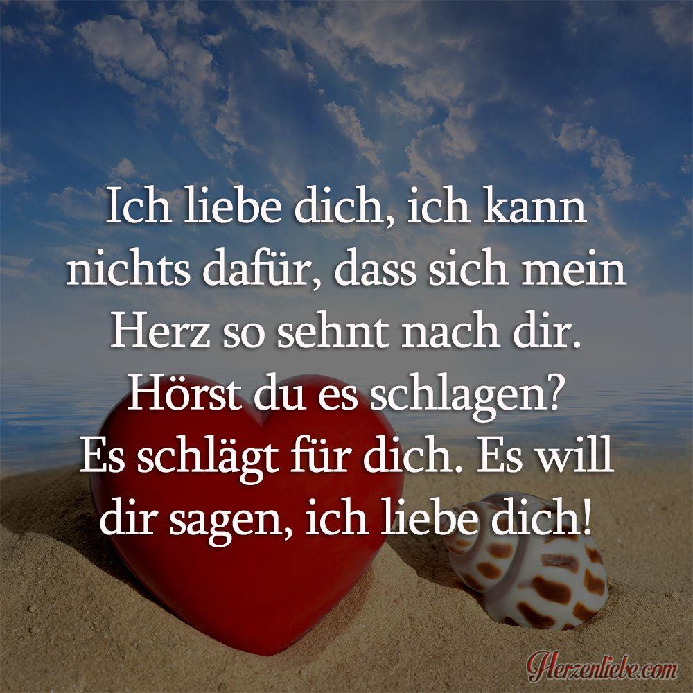 Ich Liebe Dich Ich Kann Nichts Dafur Herzenliebe Liebesspruche Spruche Und Zitate