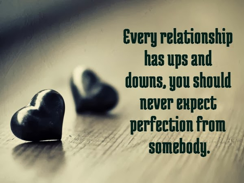 Its Ok To Have Ups And Downs In Relationships