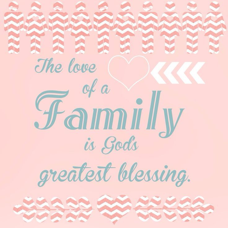 Quotes Family Love Blessing Sweet Nothings