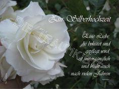 Hochzeitskarten Silberhochzeit Karte Rose Weis Td Ein Designerstuck Vontraumkiste Bei Dawanda