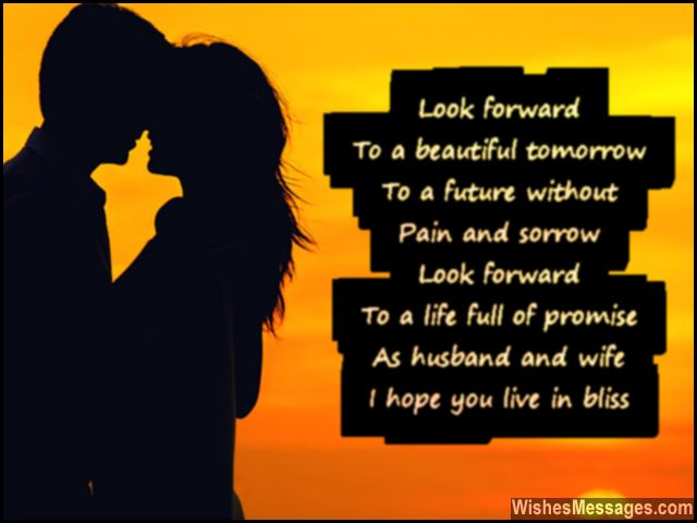 Cute Wedding Poem Quote For Newly Married Couple