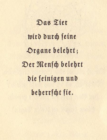 Das Goethezeitportal Goethes Spruche Zu Tieren