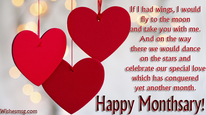 Happy Monthsary Messages For Girlfriend